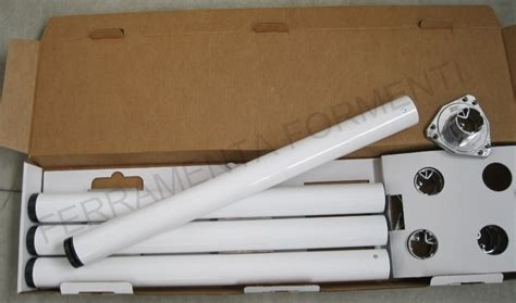 gambe regolabili per tavoli set 4 gambe per tavolo regolabili in acciaio diametro 6