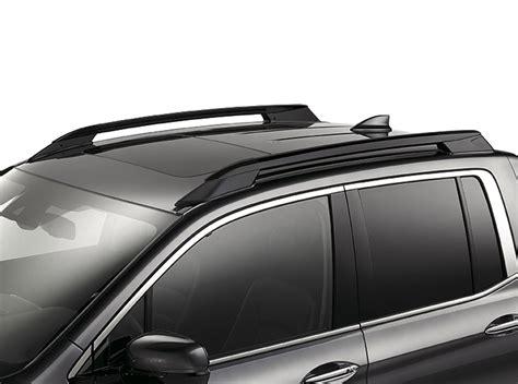 honda ridgeline roof rails black  tz