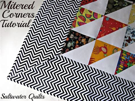 18 best images about miter corners quilt on
