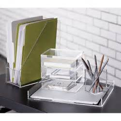 Office Desk Supplies Format Desk Accessories Cb2