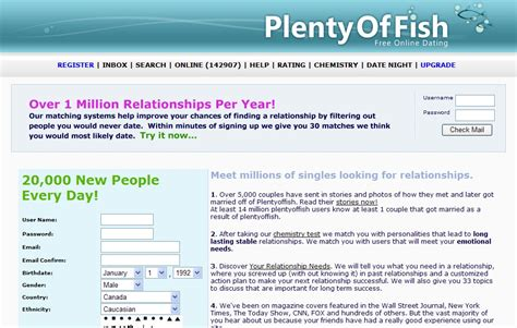 Plenty Of Fish Email Search Plenty Of Fish Dating Site Search