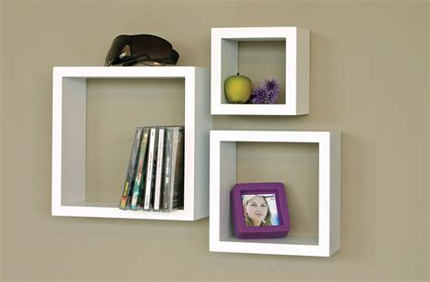wall bookshelves white floating wall shelves set of 3 for your rooms