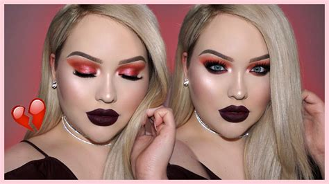 valentines day makeup tutorial anti valentine s day makeup tutorial nikkietutorials