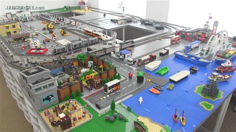 Narrow Lot House Plan jangbricks custom lego city update june 2014