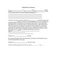 sle power of attorney template 100 sle limited power of attorney power of attorney
