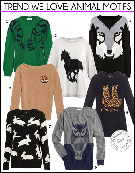 Animal Pullover trend we animal motif sweaters travel style
