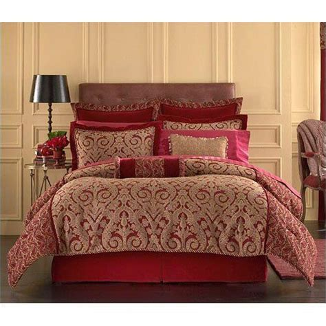 springmaid comforters queen red and gold comforter set by springmaid http www