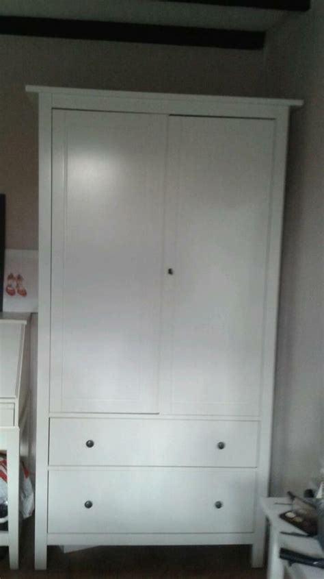 White Solid Wood Wardrobes - white wardrobe solid wood in whitstable kent gumtree