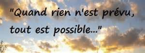 couverture avec le mot possible