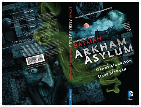 batman arkham asylum 25th 1401251250 jun140278 batman arkham asylum 25th anniv dlx ed tp previews world
