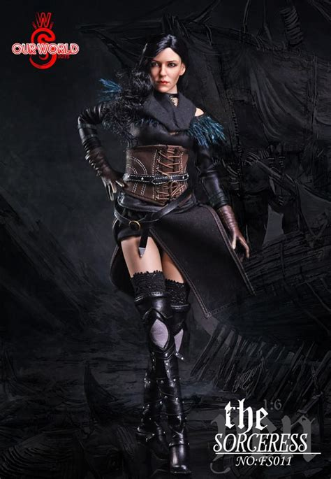 Our World Fs008 1 6 Scale Figure 1 6 scale the sorceress yen figure by sw our world one sixth outfitters