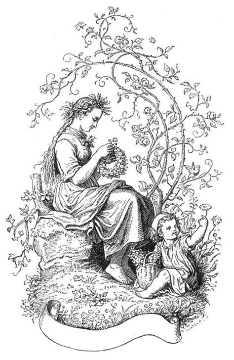 Malvorlage Frühling   Ausmalbild 15939.