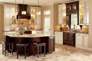 Neutral Kitchen Backsplash Ideas Traditional Kitchen Backsplash Using Small Tiles In