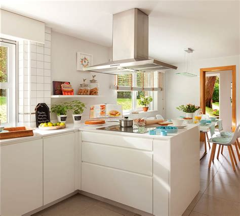 imagenes de cocinas blancas cocinas en blanco una apuesta atemporal y muy luminosa