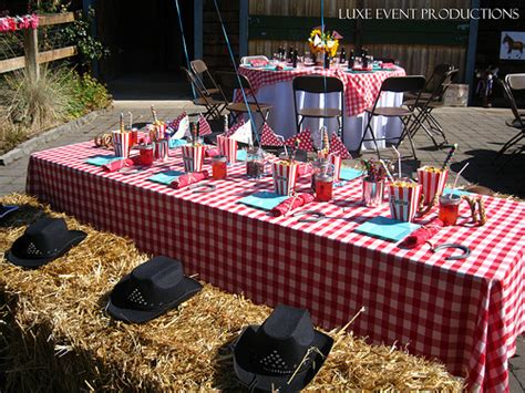 western themed events luxe social celebrations child s birthday party