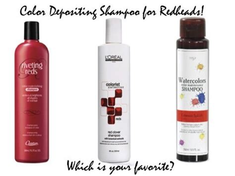 redhead hair products shoo conditioners what s a ginger to do the low down on color depositing