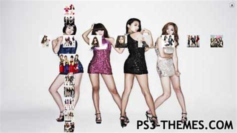 kpop ps3 themes ps3 themes 187 so cool sistar