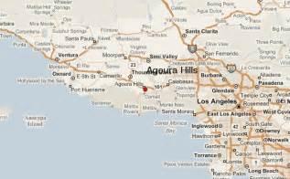 agoura california map agoura location guide