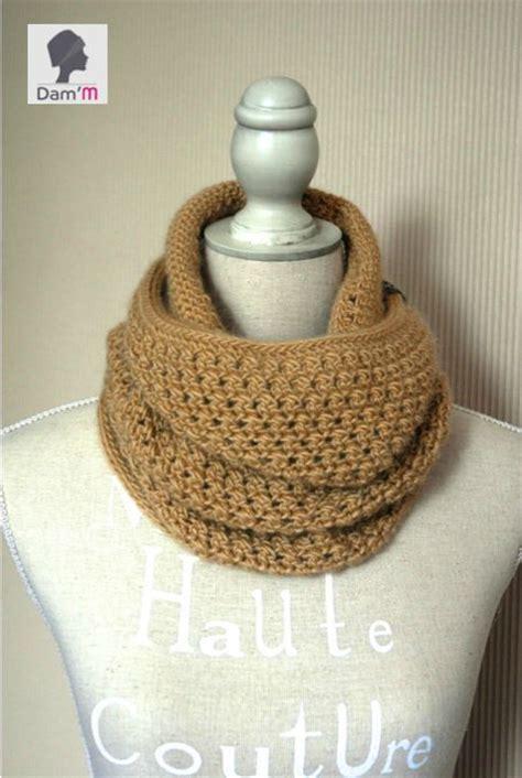 Snood Crochet Modèle Gratuit