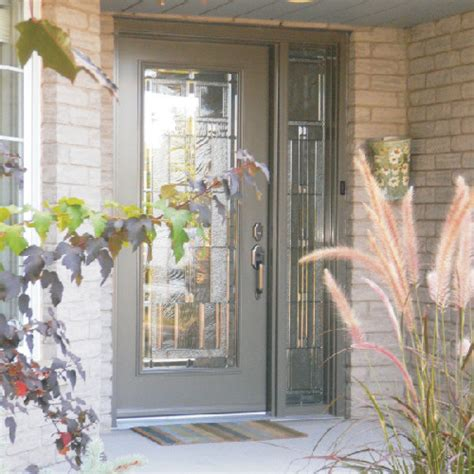 Front Door With Single Side Light Front Single Door With Sidelight Traditional Entry Toronto By Fasada