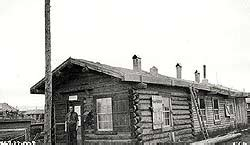 Johnston Post Office by Civilization Ca Dogsled Mail In The Yukon
