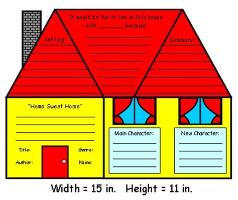 Iggies House Book Report by House Book Report Project Templates Worksheets Grading Rubric And More