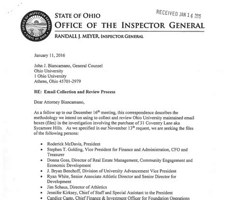 Records Request Ohio Ohio Records Request Sle Letter Docoments Ojazlink