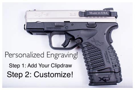 springfield pistols concealed carry clip xd xds xdm xd mod slim minimal