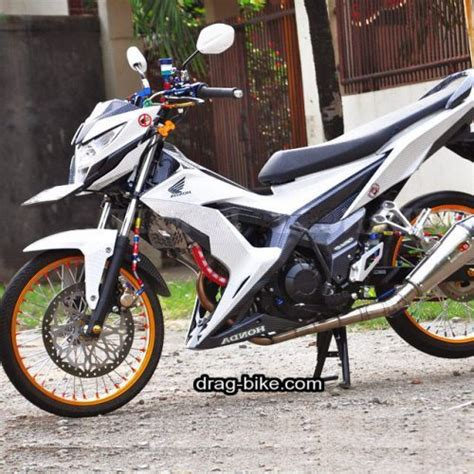 Motor Ragatan by 100 Modifikasi Sonic Racing Style Serta Berbagai