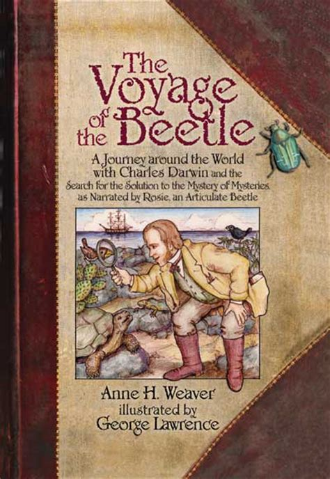 the voyage of the beagle books voyage of the beetle a book for readers about