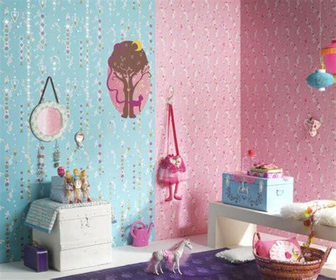 kinderzimmer blau rosa babyzimmer tapeten 27 kreative und originelle ideen