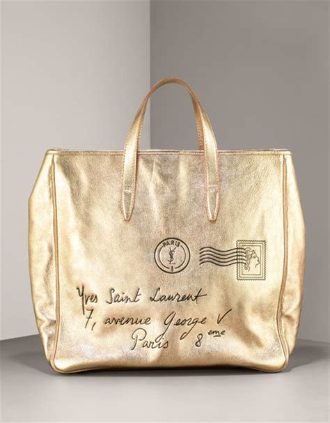 Yves Laurent Y Mail Tote Purses Designer Handbags And Reviews At The Purse Page by Yves Laurent Y Mail Tote