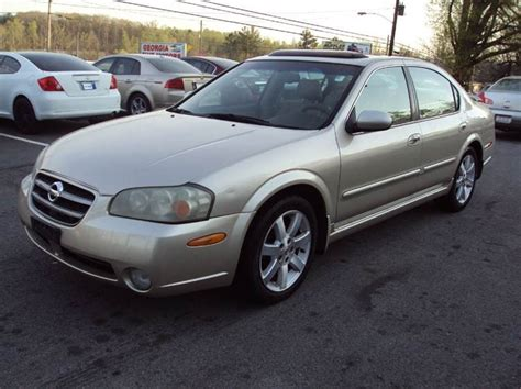 2002 nissan maxima for sale 2002 nissan maxima cars for sale