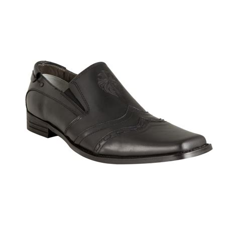 nason loafers nason lounge black distressed leather recovery square
