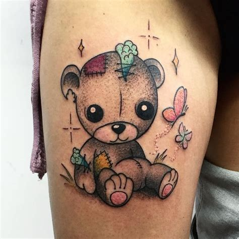 small teddy bear tattoos 45 sweet teddy tattoos for your 2018