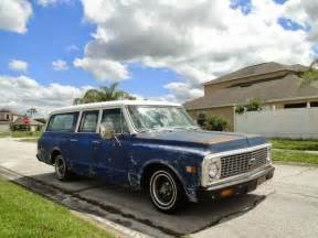 1972 Chevrolet Station Wagon 1972 Chevy Suburban 3 Door Station Wagon Auto Restorationice