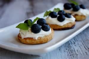 fresh blueberry dessert bruschetta recipe dishmaps