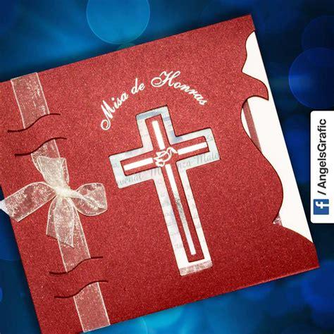 diseos de tarjetas para invitacin de misa de difuntos invitaci 243 n para misa de honras hr 56854 angels graphic