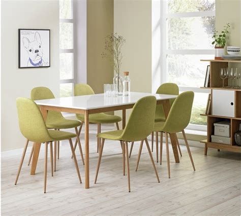 baby table and chair set argos buy hygena beni dining table and 6 chairs green at argos