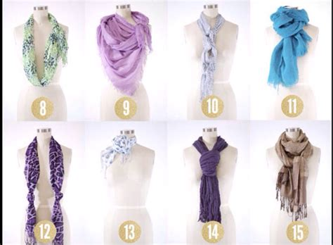 8 Cool Ways To Wear A Scarf by 190 Views 8 Likes