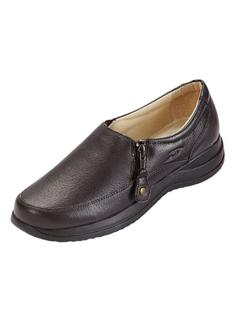 dr scholl s side zip shoe drleonards