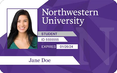 miami universit student card template wildcard northwestern