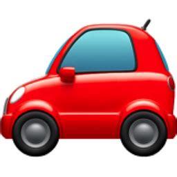 Car Lightning Cars Emoji Automobile Emoji U 1f697