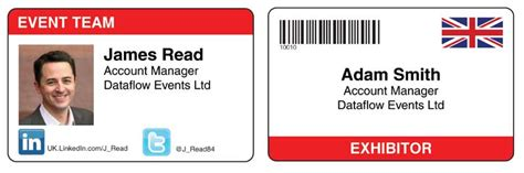 Designing A Better Name Badge Conference Badges Personalised Name Badges For Events Id Badges Company Name Tag Template