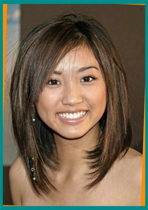 medium length hairstyles for narrow faces medium length haircuts for round faces and thin hair