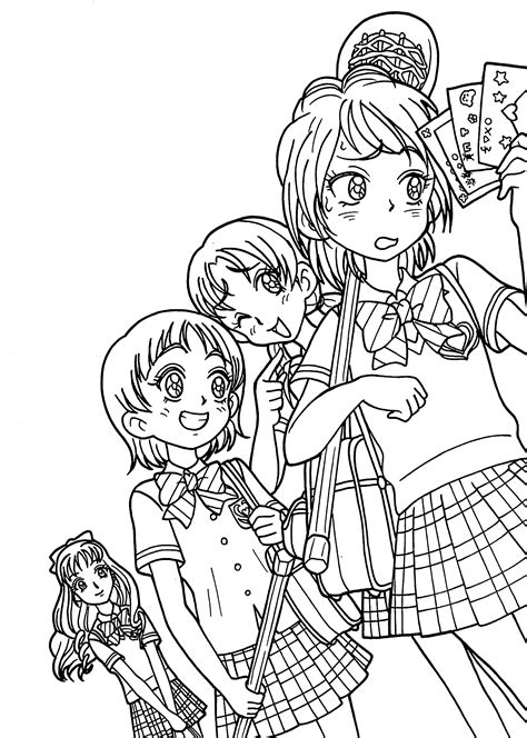 anime girl coloring pages coloringsuite com anime girl coloring pages coloringsuite com