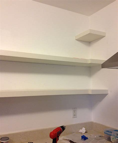 Shelf Meaning by Diy Wraparound Kitchen Shelving Almost Makes