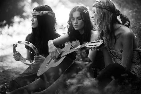 60er 70er the 70s hippie trio forever boho