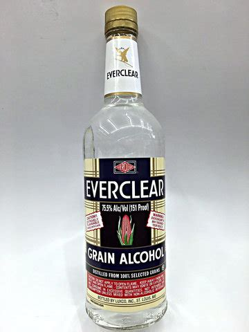everclear 151 proof grain vodka | quality liquor store