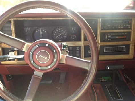 Jeep Wagoneer Interior by 1986 Jeep Wagoneer Pictures Cargurus